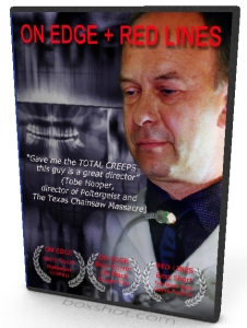 On Edge and red Lines DVD starring Doug Bradley