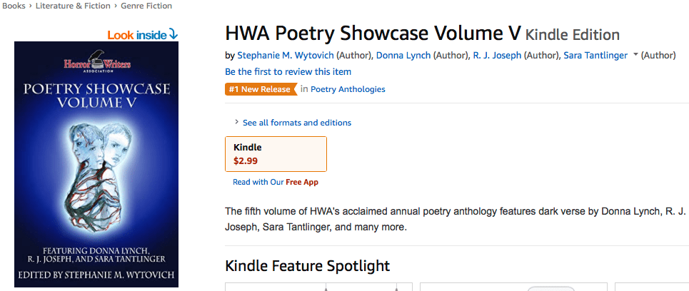 Number 1 hot new release on amazon