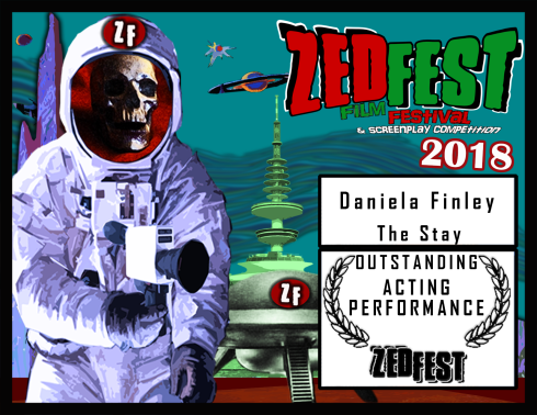 Zed-Fest-2018 The-Stay Daniela Finley Acting Performance Award